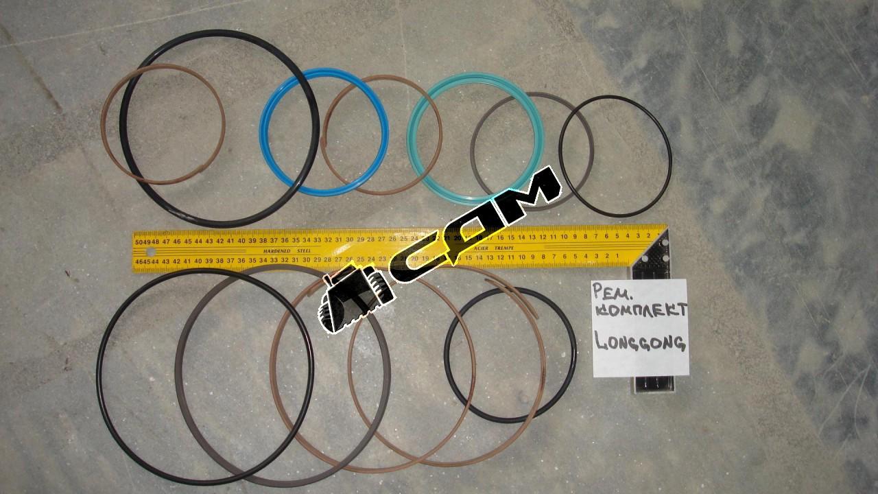 Ремкомплект цилиндра поворота CDM833 45x60